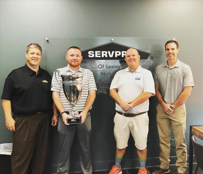 SERVPRO and the Legends