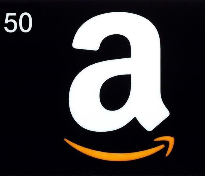 Community Win a $50 Amazon gift card in SERVPRO of Lexington's Giveaway!